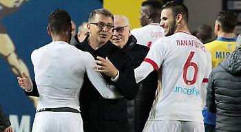 Νικολακόπουλος: «Έκανε +1 το -5 και -4 παρά τις τρικλοποδιές ο Ολυμπιακός»