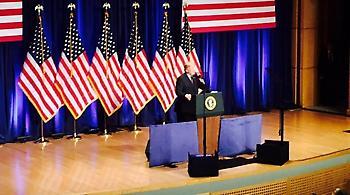 Ο Τραμπ ανακοίνωσε το νέο στρατηγικό δόγμα: Η αδυναμία είναι ο πιο σίγουρος δρόμος προς τον πόλεμο