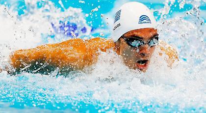 Ψηλά οι Έλληνες στην παγκόσμια κατάταξη κολύμβησης