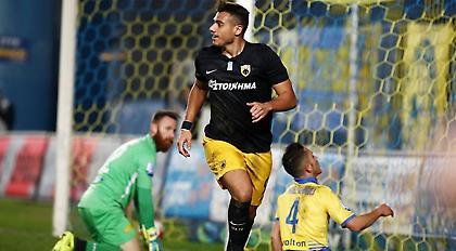 Γιακουμάκης: «Ένιωθα πίεση. Μεγάλη ομάδα η ΑΕΚ»