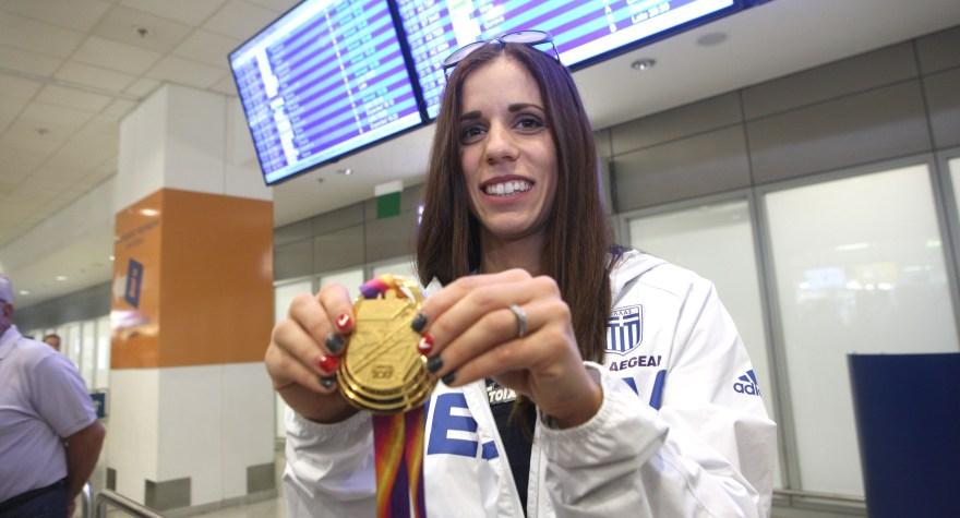 Κορυφαία αθλήτρια η Στεφανίδη!