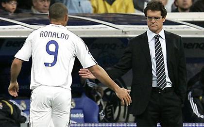 Καπέλο: «Ο καλύτερος παίκτης που είχα ήταν ο Ρονάλντο»