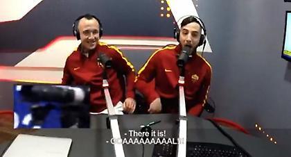 Βίντεο-έπος: Ο Μανωλάς περιγράφει στα ιταλικά το Ρόμα-Λάτσιο! (video)