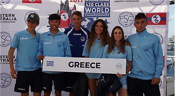 Με τρία σκάφη η Ελλάδα στο Παγκόσμιο Πρωτάθλημα 420