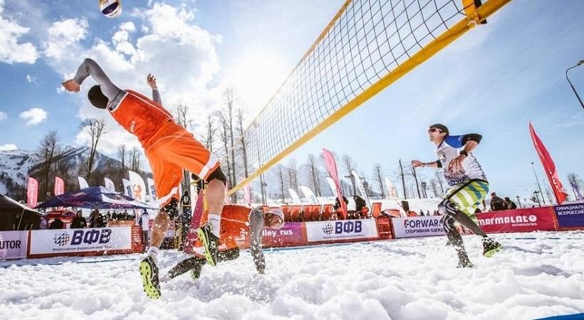 Πανελλήνιο τουρνουά βόλεϊ στο... χιόνι διοργανώνει η ΕΠΟΕ! (pics)