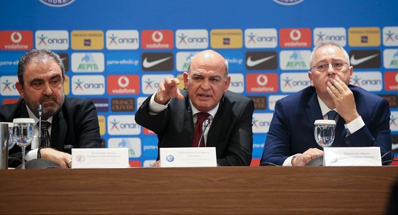 «Ακόμη μία σφαίρα στο ποδόσφαιρό μας. Η ΕΠΟ δεν πτοείται, δεν εκφοβίζεται, δεν εκβιάζεται»!