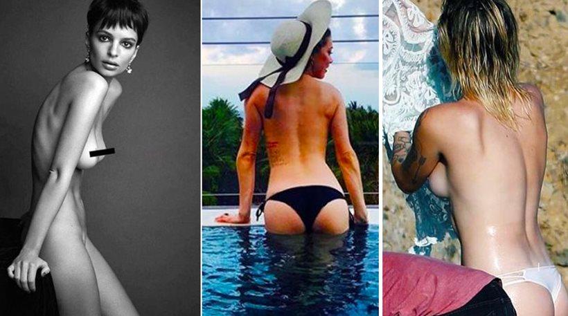 Οι πιο hot σταρ του 2017: Πόζαραν γυμνές και «γκρέμισαν» το Instagram