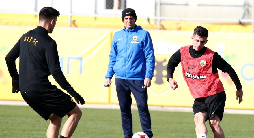 Χιμένεθ στους παίκτες: «Το ματς με τον Παναιτωλικό δεν θα είναι εύκολο»