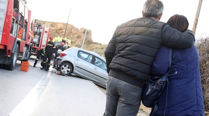 Τροχαίο στην Κρήτη: Νεκρό μελλόνυμφο ζευγάρι - Σκοτώθηκε και η μητέρα της κοπέλας