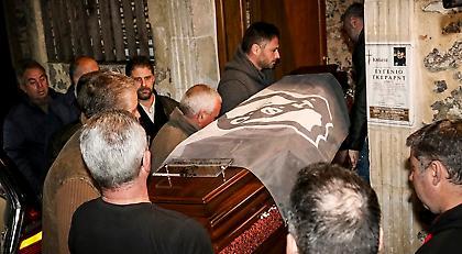 Το τελευταίο αντίο στον Ευγένιο Γκέραρντ: Σε λαϊκό προσκύνημα η σορός του (pics)