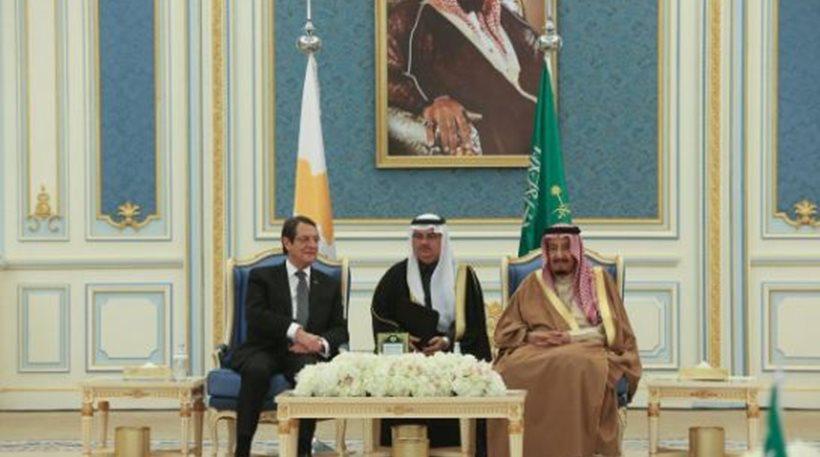 Τρεις διμερείς συμφωνίες υπέγραψε η Κύπρος με τη Σαουδική Αραβία