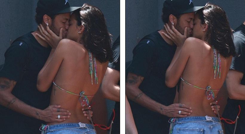 Τα καυτά φιλιά του Νεϊμάρ με την Μπρούνα στη Βραζιλία (pics)