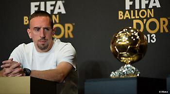 Ριμπερί: «Μου έκλεψαν την Χρυσή Μπάλα το 2013 για χάρη του Ρονάλντο»
