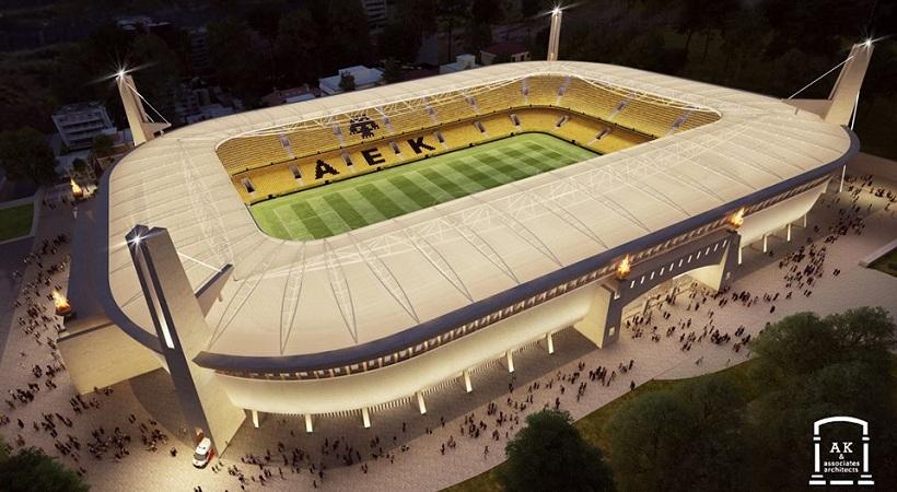 Με σπουδαίες εξελίξεις για το γήπεδο της ΑΕΚ θα κλείσει ο Γενάρης