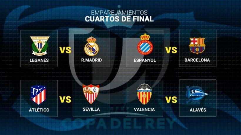 Ντέρμπι Καταλωνίας και… Μαδρίτης στους «8» του Κυπέλλου Ισπανίας