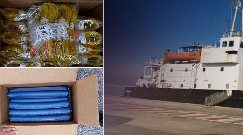 Έρευνα για το πλοίο - βόμβα με τα εκρηκτικά ξεκινούν οι Τούρκοι