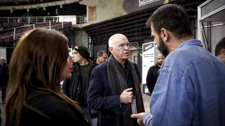 Ο Γ.Παπανδρέου στην πρώτη έκθεση κάνναβης στην Ελλάδα