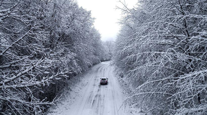 Βόλος: Κατολισθήσεις στο Πήλιο - Έντονη χιονόπτωση στην περιοχή