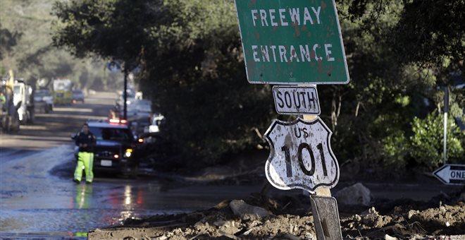 ΗΠΑ: Στους 19 οι νεκροί από τις κατολισθήσεις στην Καλιφόρνια