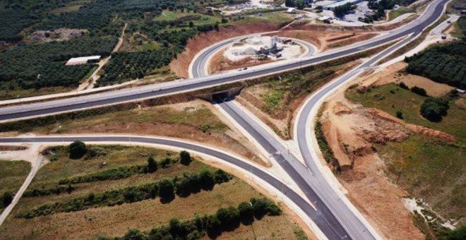 Προσωρινές κυκλοφοριακές ρυθμίσεις στην Ιόνια Οδό