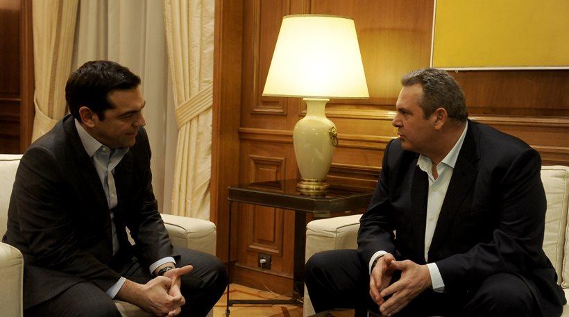 Σιγή από την κυβέρνηση για το δημοψήφισμα που ζητά ο Καμμένος για το Σκοπιανό