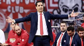 Σφαιρόπουλος: «Τελευταία στιγμή θα δούμε αν θα παίξει ο ΜακΛίν»