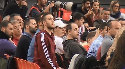 Η παρακάμερα του Ολυμπιακός-Μακάμπι με αποθέωση και... Φορτούνη (video)