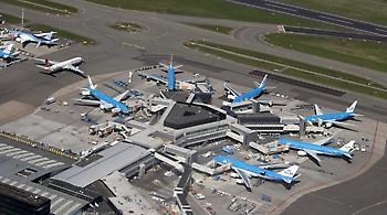 Ακυρώθηκαν πτήσεις στο αεροδρόμιο του Άμστερνταμ-Σχίπχολ λόγω κακοκαιρίας