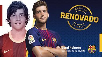 Ανακοίνωσε το deal με Σέρτζι Ρομπέρτο η «Μπάρτσα»-Εξωπραγματική η ρήτρα του