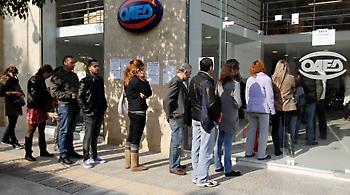 Αυξήθηκαν κατά 15.000 οι άνεργοι το Δεκέμβριο
