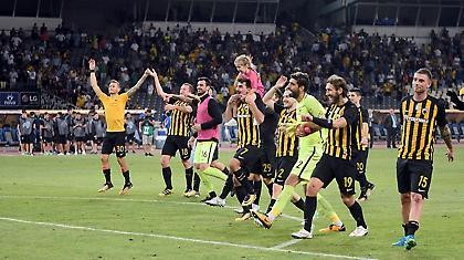Καλύτερη ελληνική ομάδα για το 2017 η ΑΕΚ