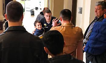 Οπαδοί της ΑΕΚ στο ξενοδοχείο στη Λάρισα (pics)