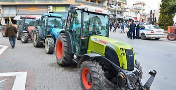 Μπλόκο στήνουν αγρότες την ερχόμενη Τετάρτη