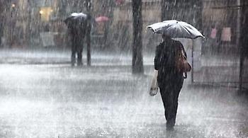 Έκτακτο δελτίο επιδείνωσης του καιρού: Ισχυρές βροχές και καταιγίδες από το απόγευμα