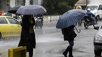 Έκτακτο δελτίο της ΕΜΥ: Βροχές, καταγίδες και χιονοπτώσεις