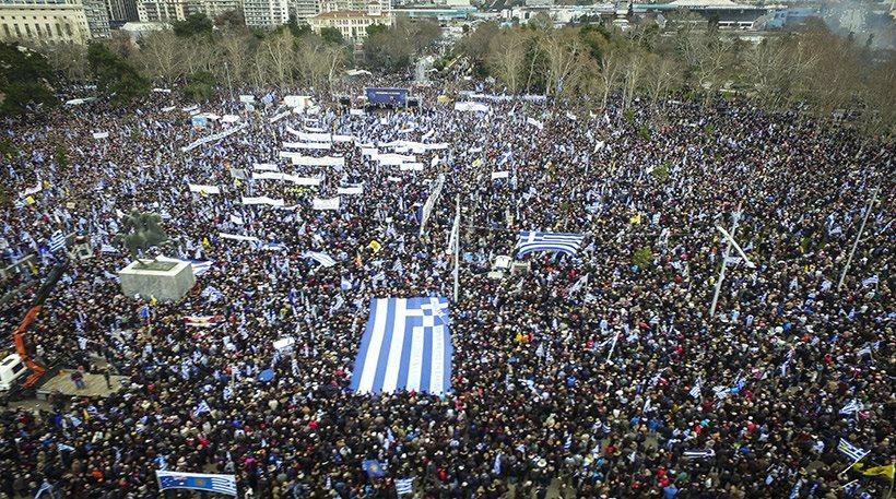Ξεπέρασε κάθε προσδοκία το συλλαλητήριο για τη Μακεδονία (pics/video)