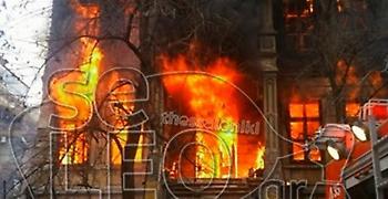 Θεσσαλονίκη: Πυρκαγιά σε υπό κατάληψη κτίριο από αντιεξουσιαστές