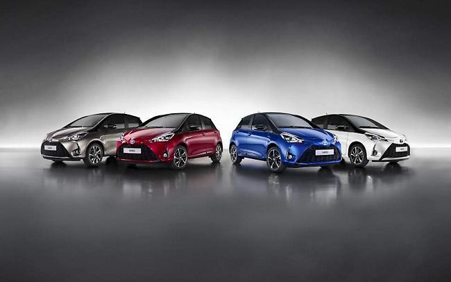 Η Toyota στην 1η θέση των πωλήσεων το 2017