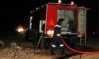 Μεγάλες ζημιές από πυρκαγιά στο ναό της Αγ. Παρασκευής Πραμάντων