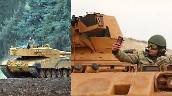 Με γερμανικά Leopard η εισβολή της Τουρκίας στη Συρία
