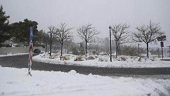 Στους -5 το θερμόμετρο στο Πήλιο - Χιονίζει στη Λαμία