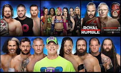 Royal Rumble 2018: Ο δρόμος για τη Wrestlemania ανοίγει τώρα!