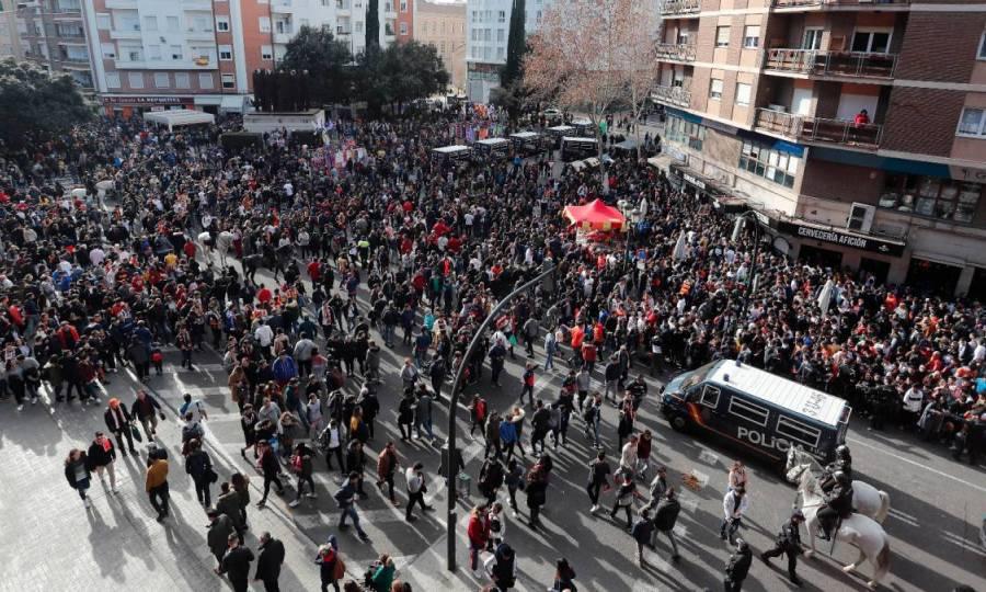 Έντονες διαμαρτυρίες στο Μεστάγια: «Ρίξτε τις τιμές»