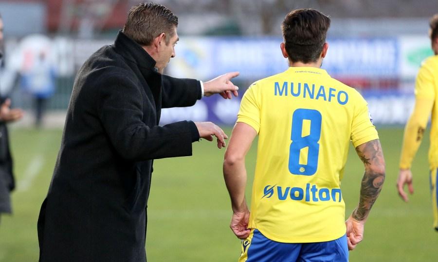 Μουνάφο: «Στο πρώτο ημίχρονο έπρεπε να βάλουμε και δεύτερο γκολ»
