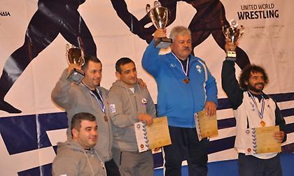 ΠΑΟΚ, Μ. Αλέξανδρος και Ευπυρίδαι πρωταθλητές Ελλάδας στην πάλη