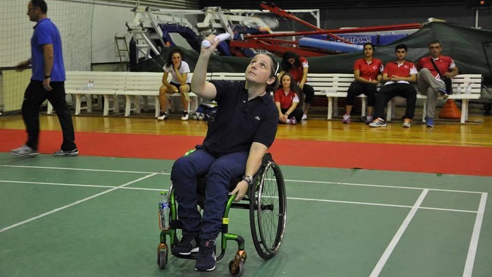 Σε διεθνές τουρνουά Para Badminton η Κοροκίδα