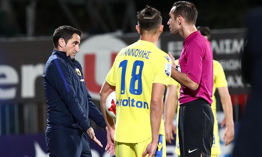 Η ΑΕΚ έχασε το ματς της χρονιάς στην Τρίπολη, με διαιτητή τον Παπαπέτρου