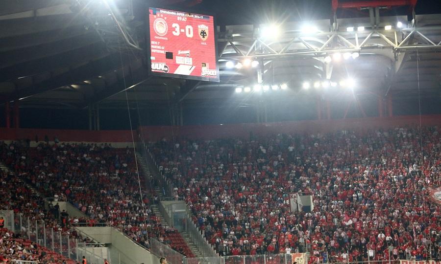 Ο Ολυμπιακός χάνει στο Καραϊσκάκη κάθε 16 χρόνια από την ΑΕΚ!