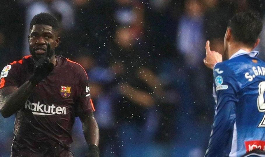 Θύμα ρατσιστικής επίθεσης από παίκτη της Εσπανιόλ ο Ουμτιτί (video)