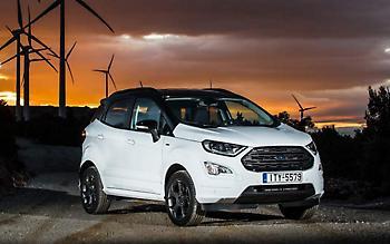 Με το νέο Ford EcoSport στην Πάρνηθα